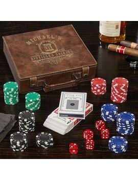 """9"""" Carraway Poker & Dealer Chips by Home Wet Bar"""