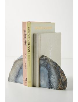 Agate Crystal Bookends by Anthropologie