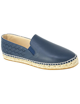 Bottega Veneta Gala Leather Espadrille by Bottega Veneta