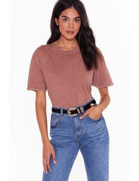 Olivia Faux Suede Western Belt by Nasty Gal