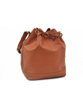 Noé Leather Handbag by Louis Vuitton