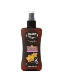 Hawaiian Tropic Protective Dry Oil Spray Spf 20 200ml by Hawaiian Tropic