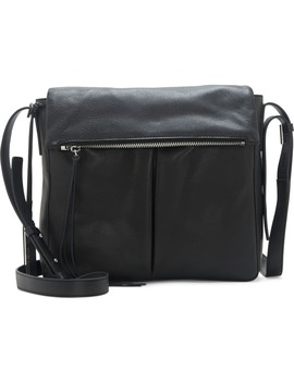 Miles Leather Crossbody Bag by Vince Camuto
