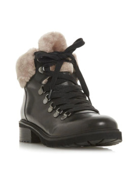 Tree Sm Fur Lined Biker Boots by Steve Madden