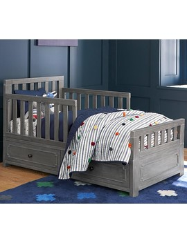 Weston Toddler Bed Conversion Kit, Simply White, Ups by Pottery Barn Kids