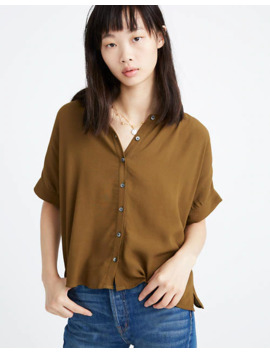 Getaway Oversized Button Down Shirt by Madewell