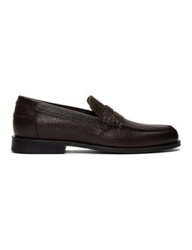 Burgundy Teddy Loafers by Ps By Paul Smith