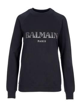 Balmain Logo Print Sweatshirt by Balmain