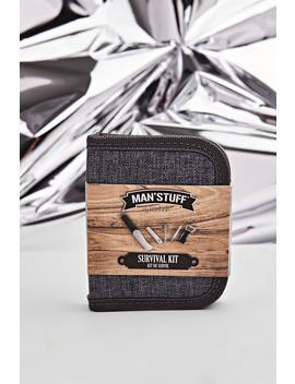 Man Stuff Survival Kit by Boohoo