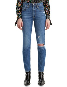 501® Ripped High Waist Ankle Skinny Jeans by Levi's®