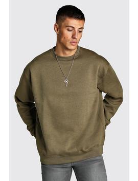 Sweat En Polaire Oversize by Boohoo