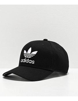 Adidas Originals Relaxed Black Snapback Hat by Adidas