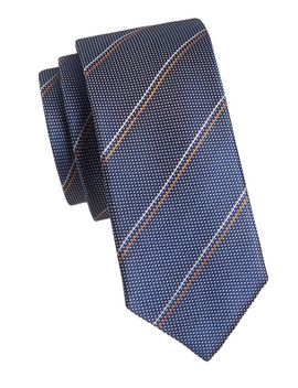 Striped Silk Tie by Hugo