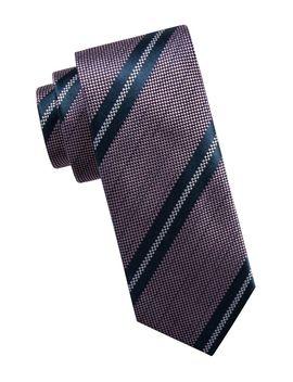 Striped Silk Slim Tie by Ben Sherman