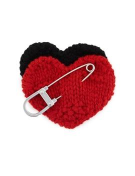 Heart Badge by Prada