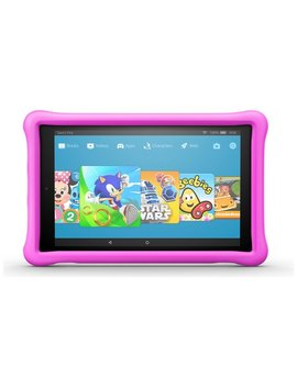 Amazon Fire Hd 10 10.1 Inch 32 Gb Kids Edition Tablet   Pink837/4336 by Argos