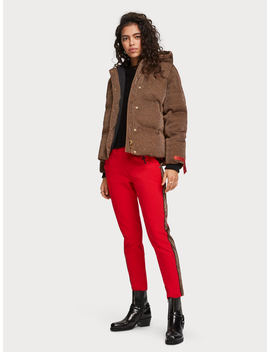 Lurex Puffer Jacket by Scotch&Soda