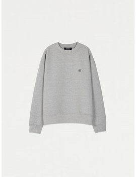 Signature Emblem Sweatshirt Atb231u (Gray) by Andersson Bell For Women