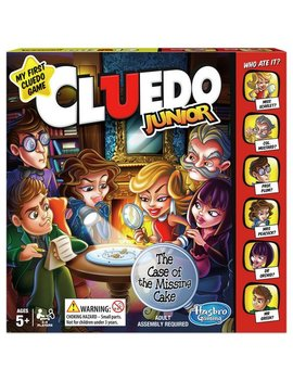 Cluedo Junior Game From Hasbro Gaming390/7296 by Argos