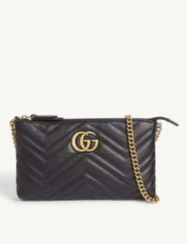 Marmont Leather Pouch by Gucci