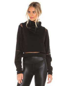Advance Long Sleeve Top In Black by Alo