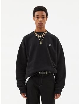 Signature Emblem Sweatshirt Atb231u (Black) by Andersson Bell For Men