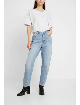 Twist Seam Mom   Jeans Relaxed Fit by Topshop