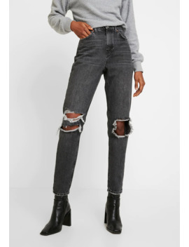 Lond Rip Mom   Jeans Relaxed Fit by Topshop