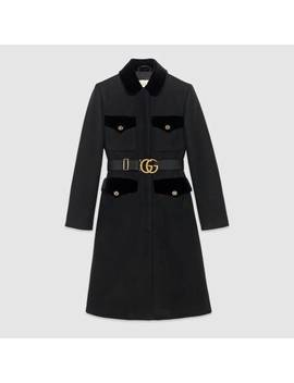 Cappotto In Lana by Gucci