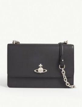 Florence Large Leather Shoulder Bag by Vivienne Westwood