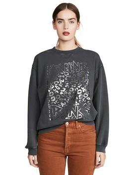 Ramona Panther Sweatshirt by Anine Bing