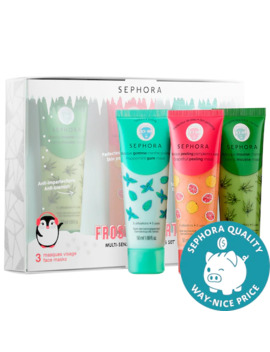 Frosted Party Multi   Sensorial Face Mask Set by Sephora Collection
