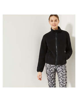 Women's Sherpa Jacket by Joe Fresh