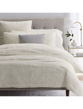 Organic Sateen Echo Duvet Cover + Shams by West Elm