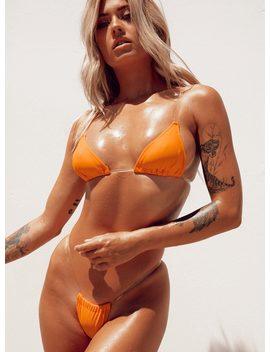 Elettra Bikini Set Orange by Princess Polly