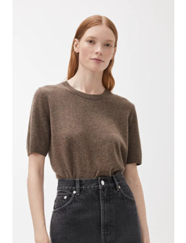 Fine Knit Cashmere Top by Arket