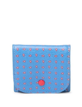Pine Print Leather Mini Coin Pouch by Coccinelle