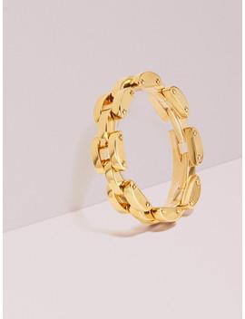 Sliced Scallops Small Link Bracelet by Kate Spade