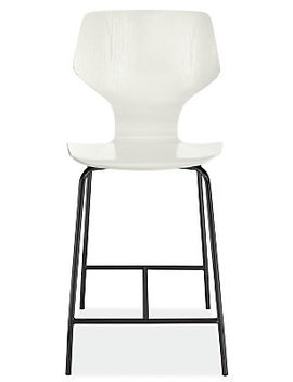 Pike Counter Stool With Metal Base by Room And Board