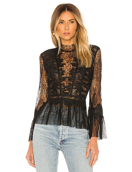 Francesca Top In Black by Bardot