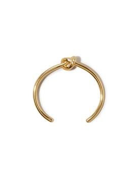 Armband Knot Extra Thin Aus Vergoldetem Messing by Celine