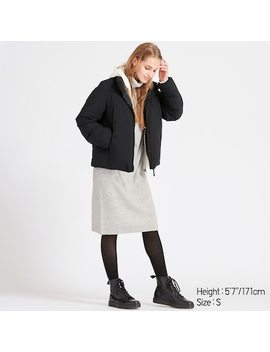 Women Hybrid Down Hooded Parka (2) by Uniqlo