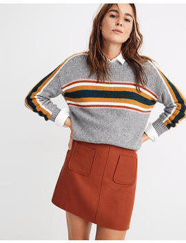 Museum Patch Pocket Mini Skirt by Madewell