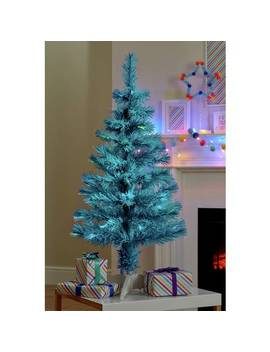 Argos Home 3ft Fibre Optic Christmas Tree   Blue920/5442 by Argos