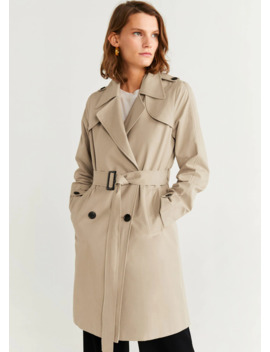 """<Font Style=""""Vertical Align: Inherit;""""><Font Style=""""Vertical Align: Inherit;"""">Double Sided Trench Coat</Font></Font> by Mango"""