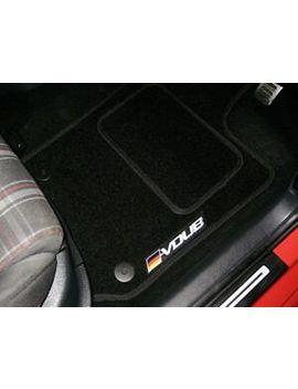 Car Floor Mats In Black To Fit Volkswagen Golf Mk6 Tdi (2009 13) + Vdub Logos by Ebay Seller