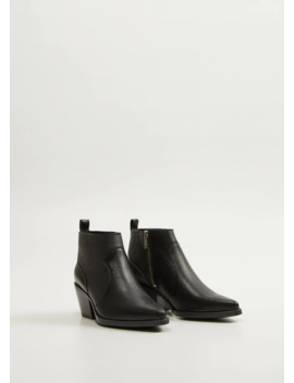 """<Font Style=""""Vertical Align: Inherit;""""><Font Style=""""Vertical Align: Inherit;"""">Leatherette With Zipper</Font></Font> by Mango"""