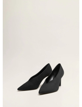 "<Font Style=""Vertical Align: Inherit;""><Font Style=""Vertical Align: Inherit;"">Shoes With Heel With V Split</Font></Font> by Mango"
