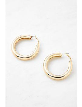 Bold Hoop Earrings by Urban Outfitters