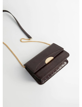 """<Font Style=""""Vertical Align: Inherit;""""><Font Style=""""Vertical Align: Inherit;"""">Shoulder Bag Crocodile </Font></Font> by Mango"""